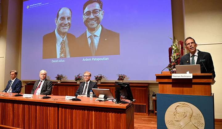 Premio Nobel de Medicina 2021: David Julius y Ardem Patapoutian